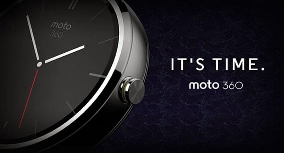 Moto 360 Android Lollipop
