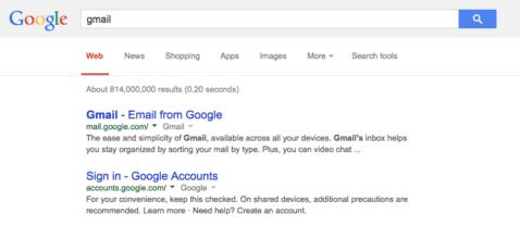 Google cambia colores de los resultados
