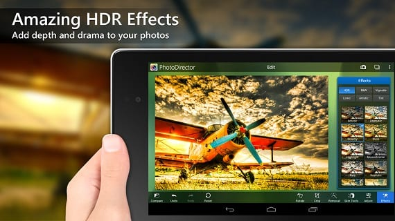 Photodirector Android