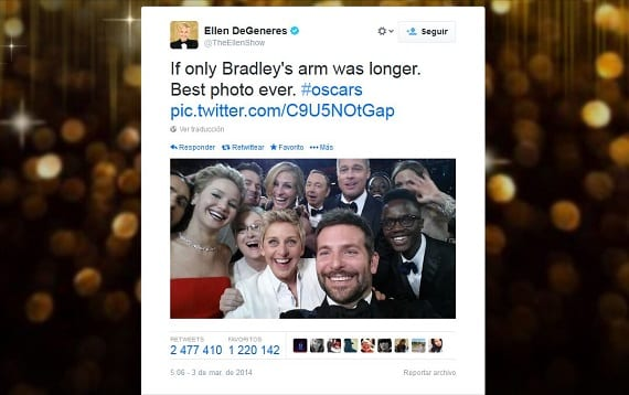 Tuits de los Oscars
