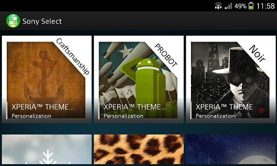 Xperia Themes