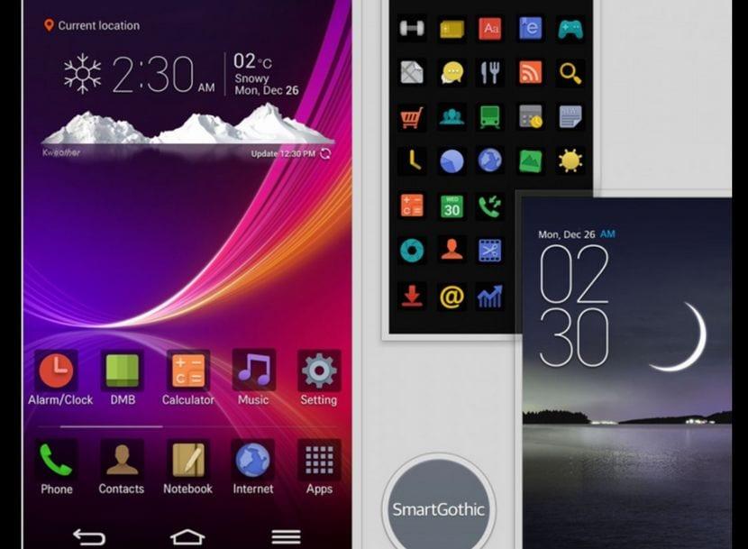 [APK]LG G2: Descarga el tema oficial del LG G Flex