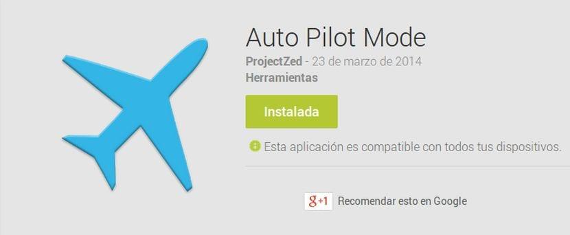 Aplicaciones increíbles para Android: Hoiy Auto Pilot Mode