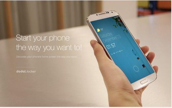 Aplicaciones increíbles para Android, Hoy dodol Locker