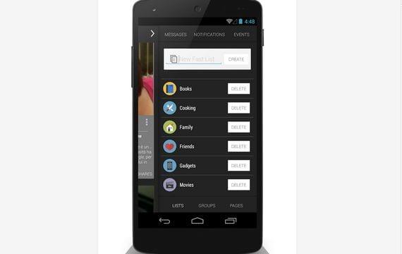 Aplicaciones increíbles para Android, Hoy Fast For Facebook