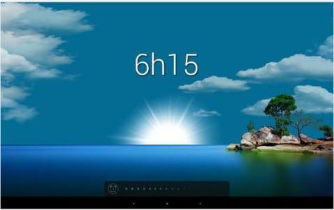 Aplicaciones increíbles para Android, Hoy Glimmer