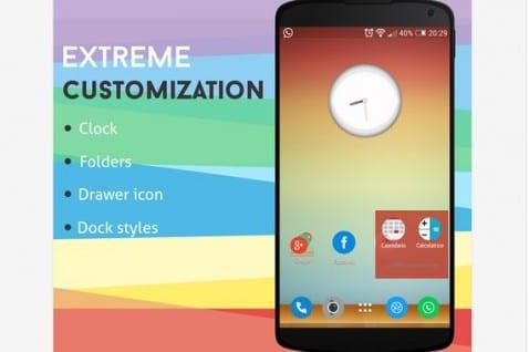Aplicaciones increíbles para Android, Hoy Inspire Launcher