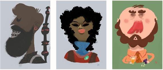 Aplicaciones increíbles para Android, Hoy Paint Joy - Color & Draw