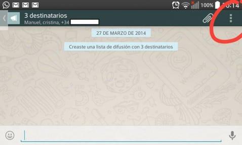 Cómo crear una nueva lista de difusión en Whatsapp y para que sirve