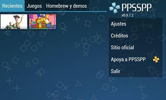 Convierte tu terminal Android en una PSP