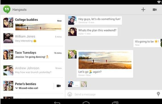 La mejor alternativa a Whatsapp la tienes en tu móvil y se llama Hangouts de Google