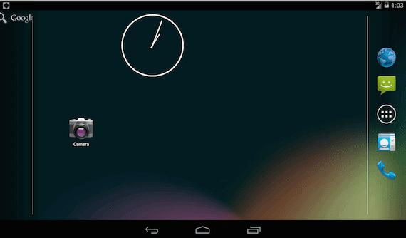 modo inmersivo Android kit Kat