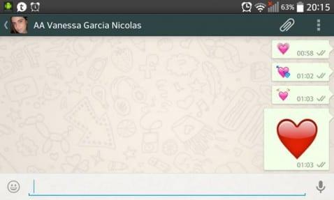 WhatsApp en Tablet Android