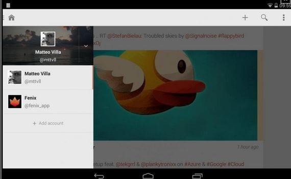 Nuevas aplicaciones Android, Hoy Fenix for Twitter