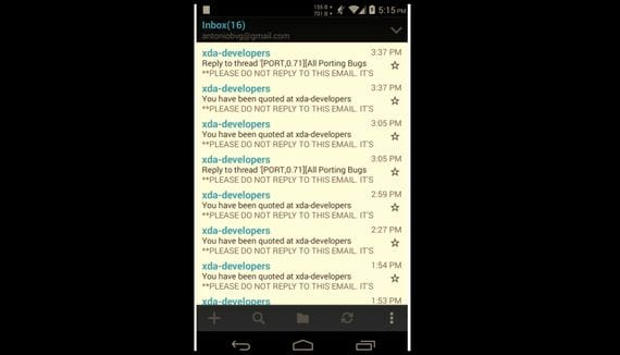 [PORT] Nokia Email disponible para otros dispositivos Android