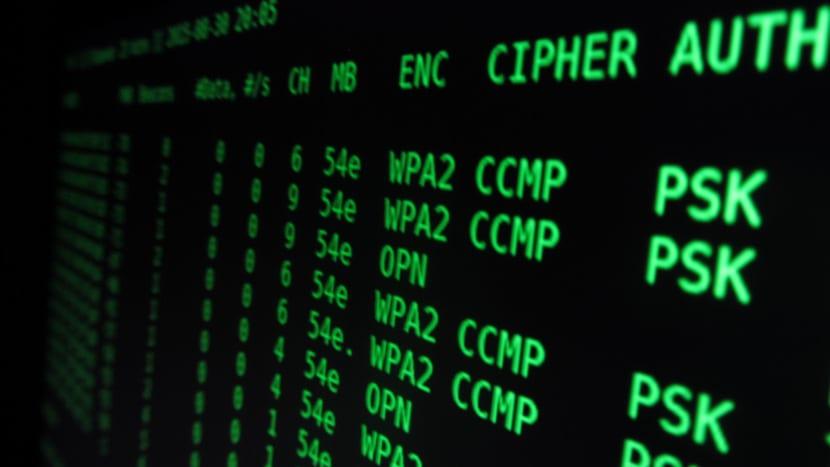 Descifrar clave WIFI WPA