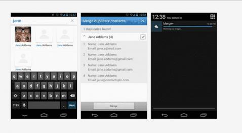 Contactos duplicados Android