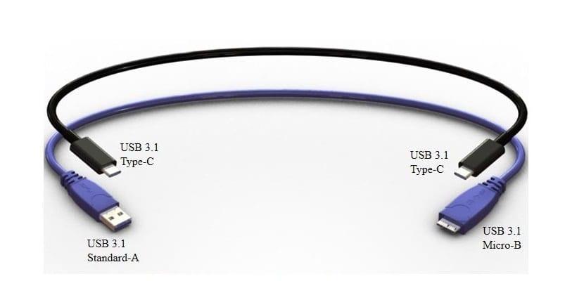 USB 3.1 reversible