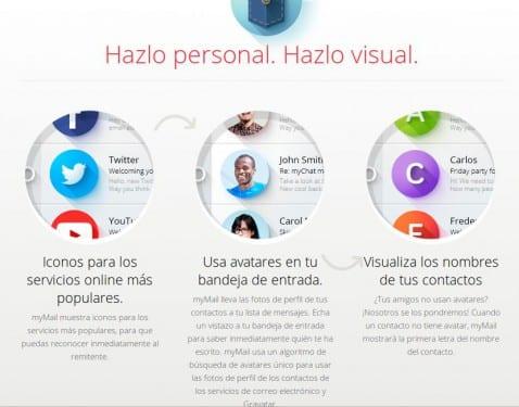 Aplicaciones increíbles para Android, hoy myMail
