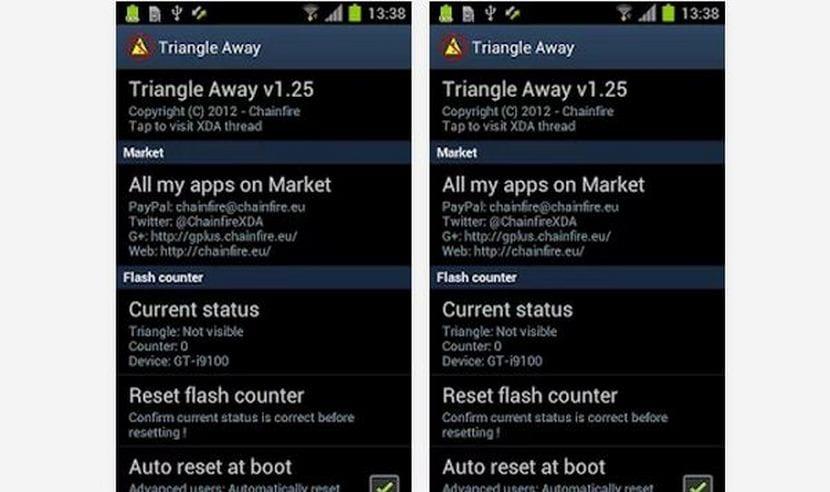 Cómo resetear el contador de flasheo de Samsung, varios dispositivos compatibles