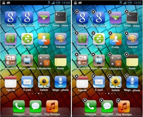 Convierte tu Android en apariencia exacta del iPhone de Apple