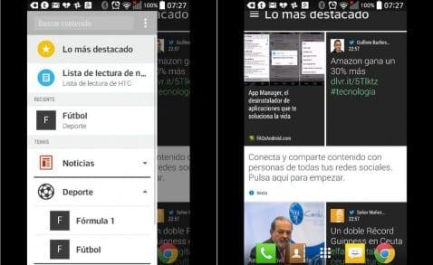 Descargar e instalar BlinkFeed Launcher de HTC en cualquier Android 4.4
