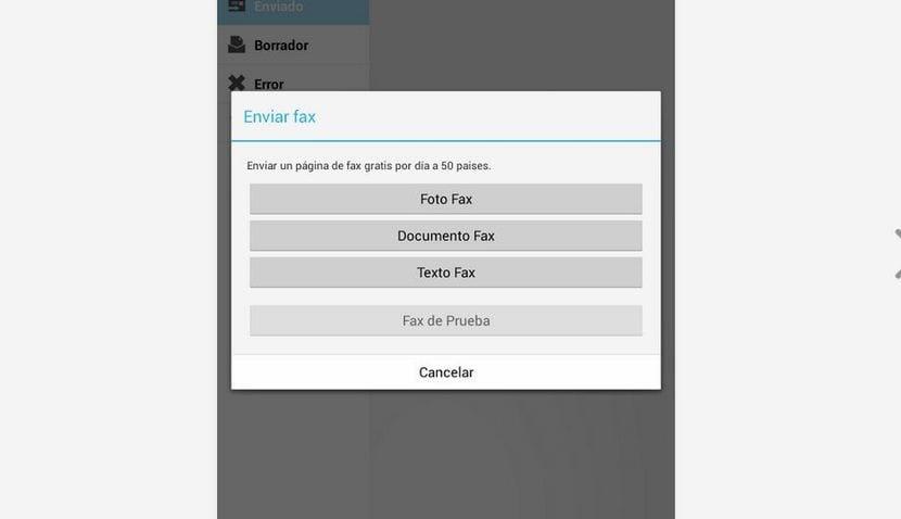 cómo enviar fax gratis desde tu android