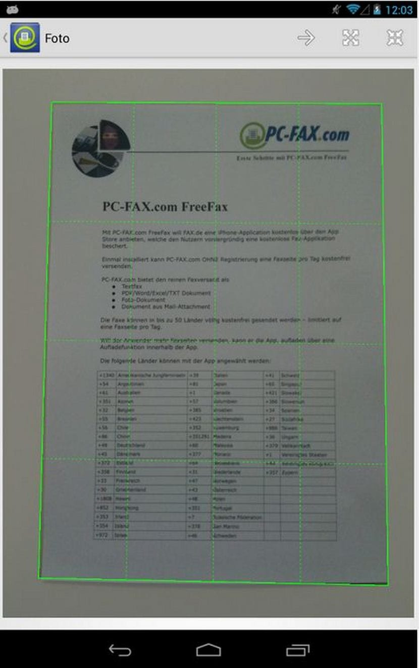 enviar fax desde pc unifeed club