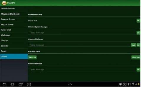 Gasta increíbles bromas en tu PC desde tu Android con PrankPC