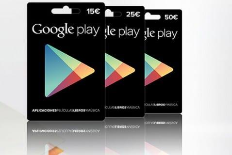 Las tarjetas regalo de Google Play llegan a MediaMarkt