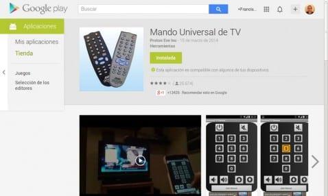 Mando Universal de TV: todo un ejemplo de publicidad invasiva en las aplicaciones Android
