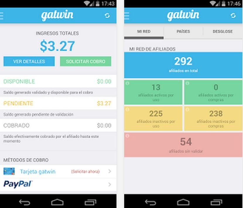 ¿Quieres cobrar por usar Internet?, Gatwin para Android ya disponible para descarga en el Play Store