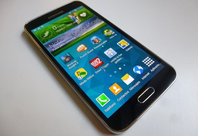 Pantalla Galaxy S5