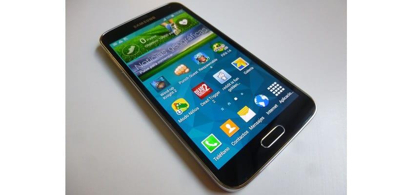 Samsung Galaxy S5 Portada