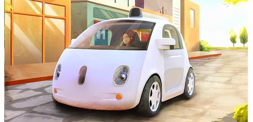Vehículo sin conductor de Google