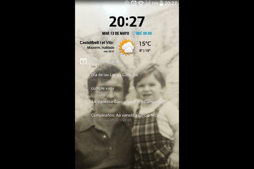[APK] Descarga e instala CyanogenClock Widget para pantalla de bloqueo y escritorio en cualquier terminal Android