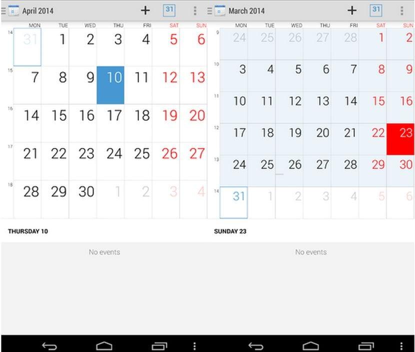 [APK] Descarga el calendario del Xperia Z2 para todos los Android