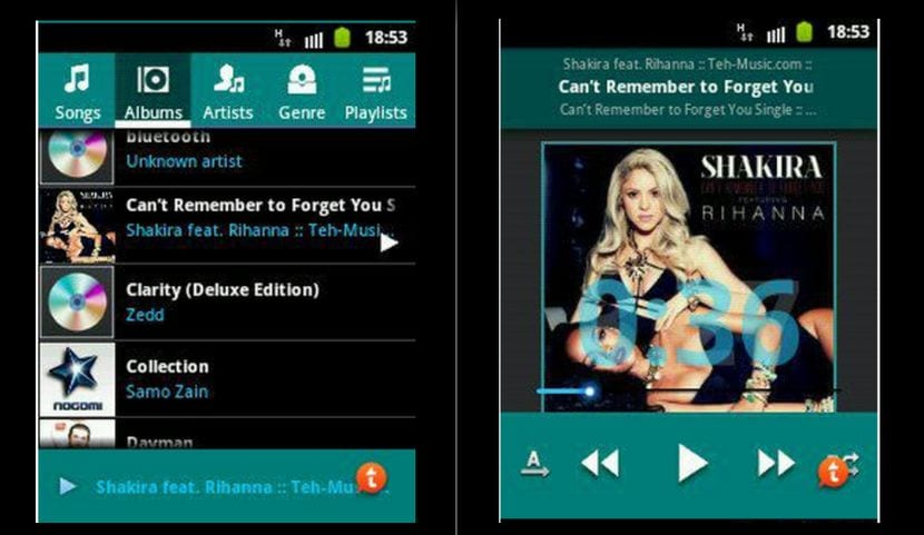 [APK] Samsung Galaxy S5 Music Player para cualquier Android