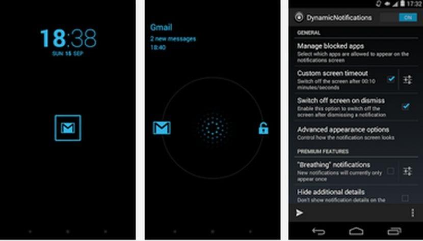 Aplicaciones increíbles para Android: Hoy DinamicNotifications