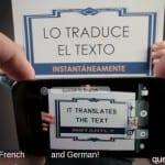 Aplicaciones increíbles para Android: Hoy World Lens Translator