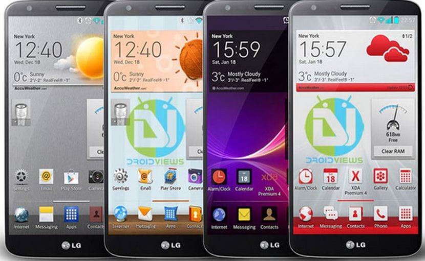 Descarga completo paquete de temas para el LG G2 gratis