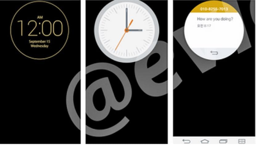 Filtradas las imágenes de los widgets de Quick Window del LG G3