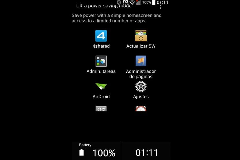 Instala el Launcher Ultra Power Saving Mode del Samsung Galaxy S5 en tu Android