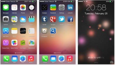 iOS 7 Lanzador, uno de los peores Launchers estilo iOS que podemos encontrar en el Play Store de Google