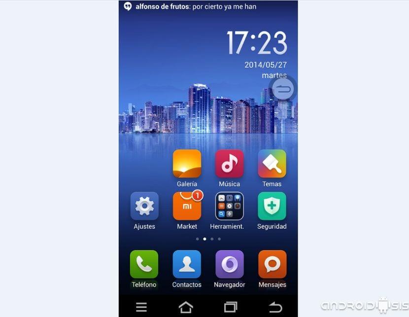Miui V5 en Español para el LG G2 ya es toda una realidad