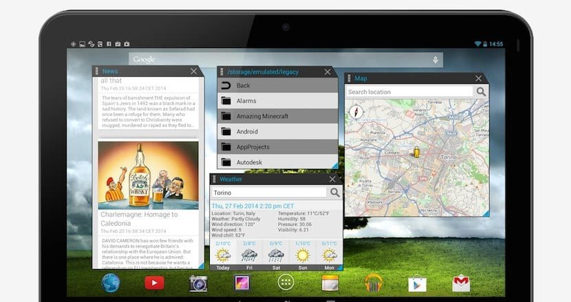 multitasking Android
