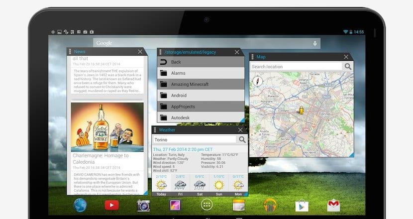multitasking Android