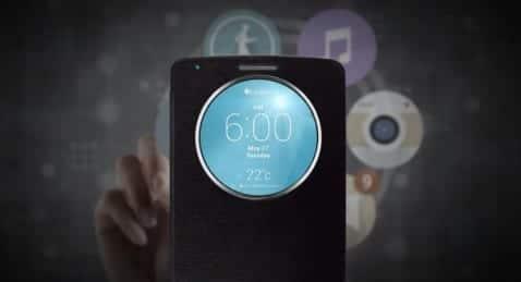 Primer vídeo del LG G3 rodando Quick Circle