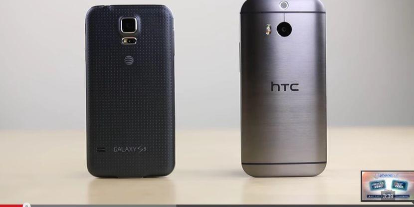 Samsung Galaxy S5 VS HTC One M8: Prueba de velocidad