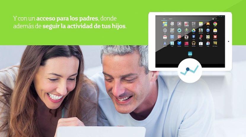 weShare de telefónica, una tableta diferente y para toda la familia